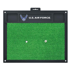 US Air Force Armed Forces Golf Hitting Mat (20in L x 17in W)
