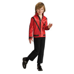 MJ RED THRILLER JCKT CHILD SM