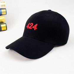 Men Women Vintage 424 Embroidery Baseball Cap Outdoor Sports Golf Ball Snapback Hip-hop Hat
