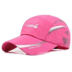 Men Women Breathable Quick Dry Cotton Baseball Caps Outdoor Sports Golf Sunshade Hats