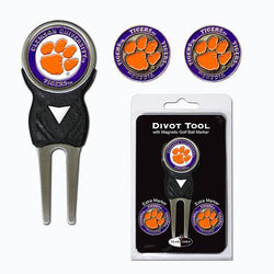 Clemson Tigers NCAA Divot Tool Pack w/Signature Tool