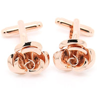 Cufflinks: Rose Gold