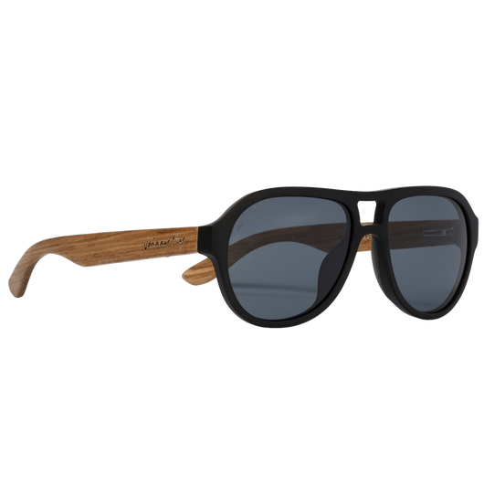 Fighter Zebrawood Sunglasses