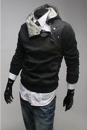 Free Shipping  NEW Hot High Collar Men's Jackets ,Men's Sweatshirt,Dust Coat
