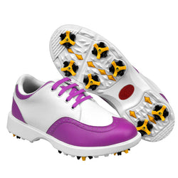 Adult Womens Ladies Girls Women Golf Sports Shoes Light Weight & Steady & Waterproof & Anti-Sideslip Technology - golf-post