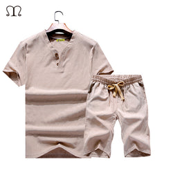 Summer Style Men Fashion Sportswear Male Casual Fashion Suit Man Tracksuits Men's Clothing Set