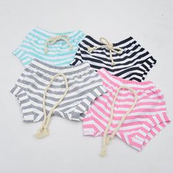 2016 Newest Baby Kids Lovely Striped Cotton Shorts Newborn Infant Baby Girls Summer Bottoms Bloomers Hot Pants Casual Shorts - golf-post
