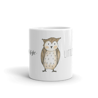 woodland mug little owl
