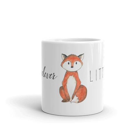 woodland mug little fox