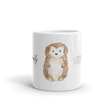 woodland mug little hedgehog