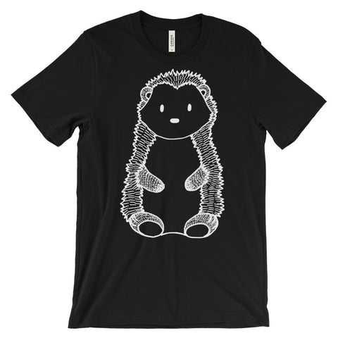 woodland black bear tshirt forest animal men