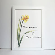 valentines day flower gift narcissus