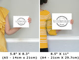wall art sizes