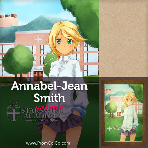 "Starswirl Academy - Annabel-Jean ""Anne"" Smith Wall Scroll"