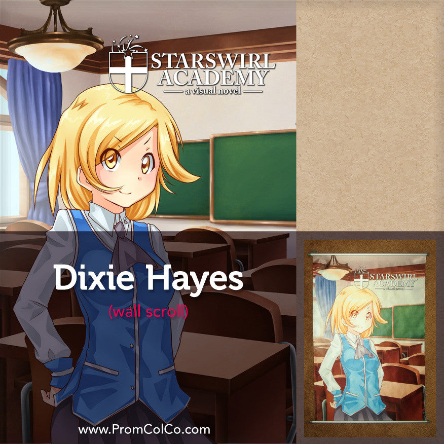 Starswirl Academy - Dixie Hayes Wall Scroll