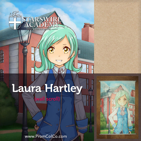 Starswirl Academy - Laura Hartley Wall Scroll