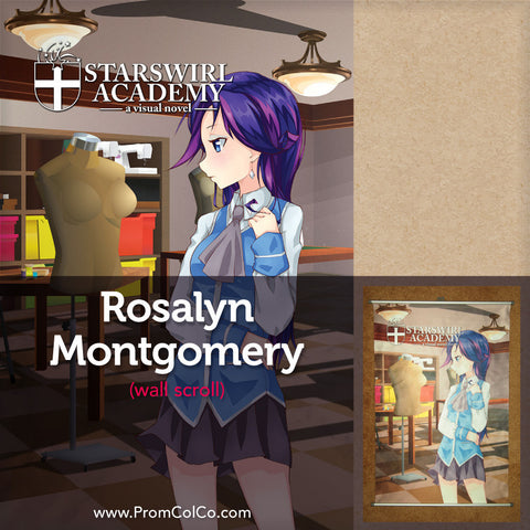 Starswirl Academy - Rosalyn Montgomery Wall Scroll