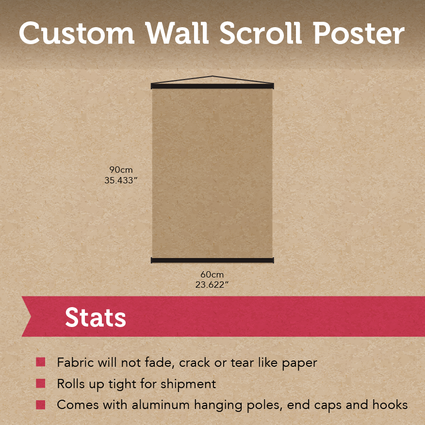 Custom Wall Scroll