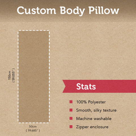 Custom Body Pillow