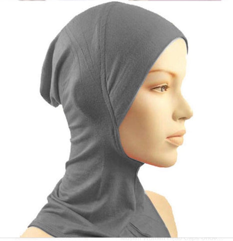 Under scarf bonnet
