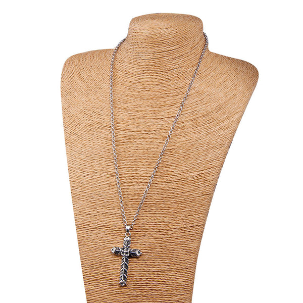 Ragnar Lothbrok Cross Necklace