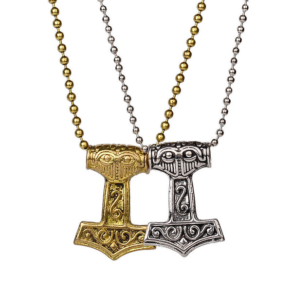 FREE - Vikings Thor's Hammer Necklace