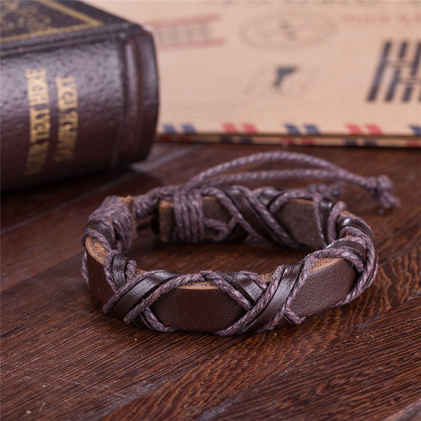 FREE - Vikings Leather Bracelet
