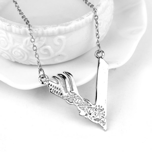 Vikings Tv Logo Necklace