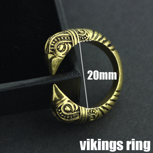 FREE - Vikings Raven Ring