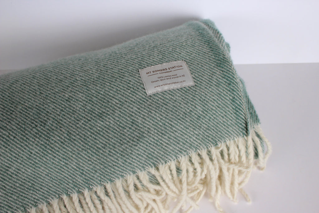 Mt Somers Station 100% Wool Blankets