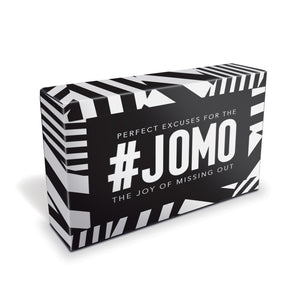 #JOMO - The Joy of Missing Out