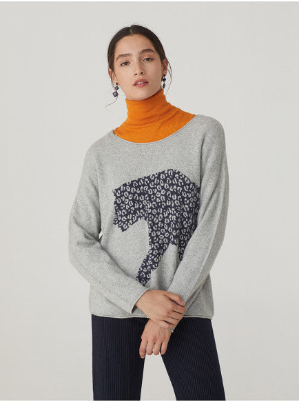 Nice Things - Leopard Print Sweater