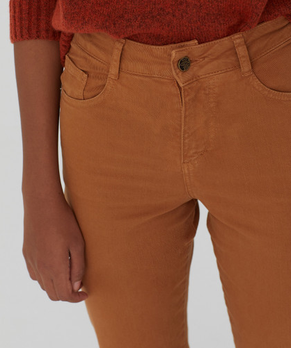 Nice Things - Coloured Twill Trousers