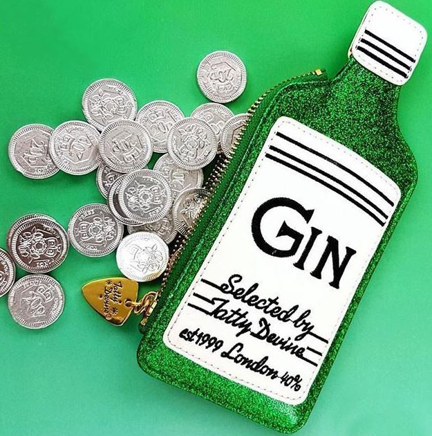 Tatty Devine - Gin Coin Purse