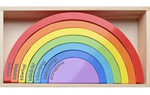 Moana Road Wooden Te Reo Rainbow Blocks