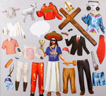 What would Jesus Wear? Magnetic Dress Up Set