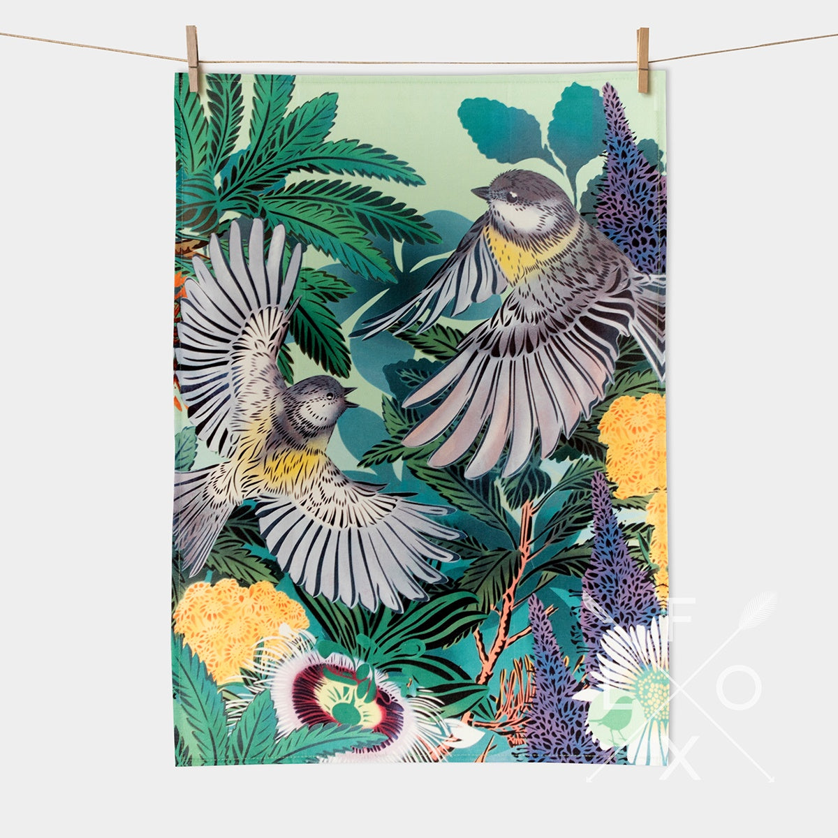 Flox Tea Towels