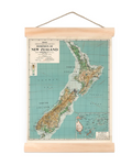 NZ Dominion Map - Wall Art