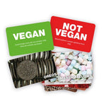 Vegan, Not Vegan flash card game