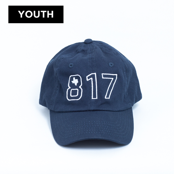 817 Texas - Youth Ball Cap - Navy