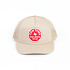 Cowtown Fort Worth Trucker Hat - Khaki