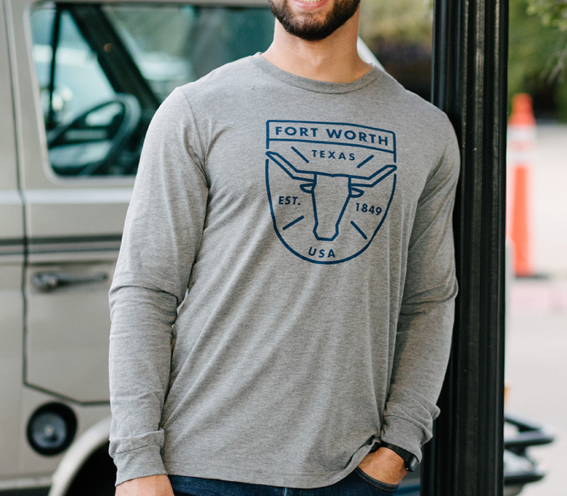 Fort Worth Badge Long Sleeve