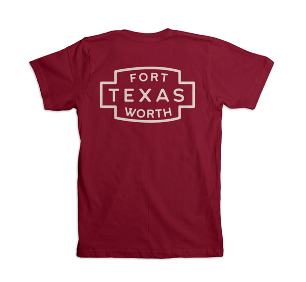 Fort Worth Patch - Pocket Tee