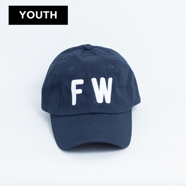 FW - Youth Ball Cap - Navy
