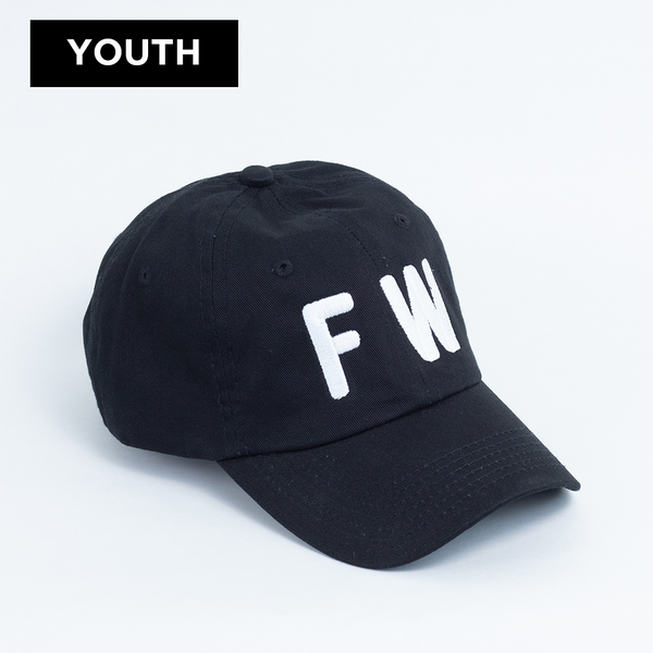 FW - Youth Ball Cap - Black