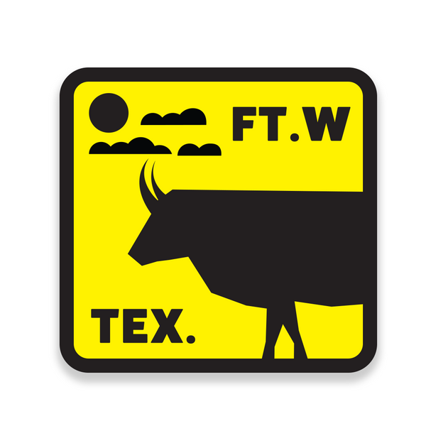 FTW TEX. Longhorn - Sticker