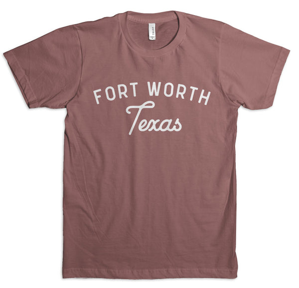 Fort Worth Texas - T-Shirt - Muave