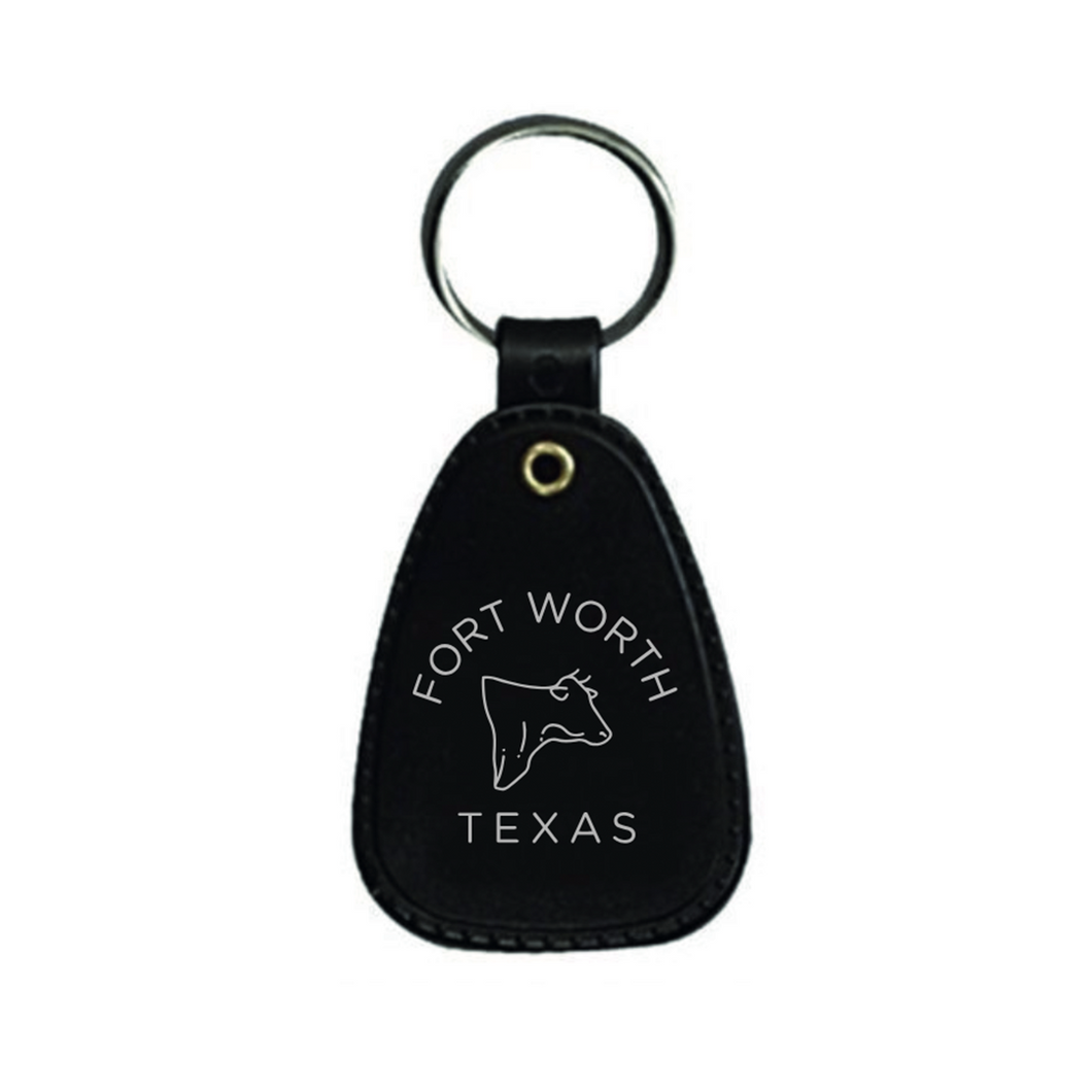 Fort Worth Texas Keychain