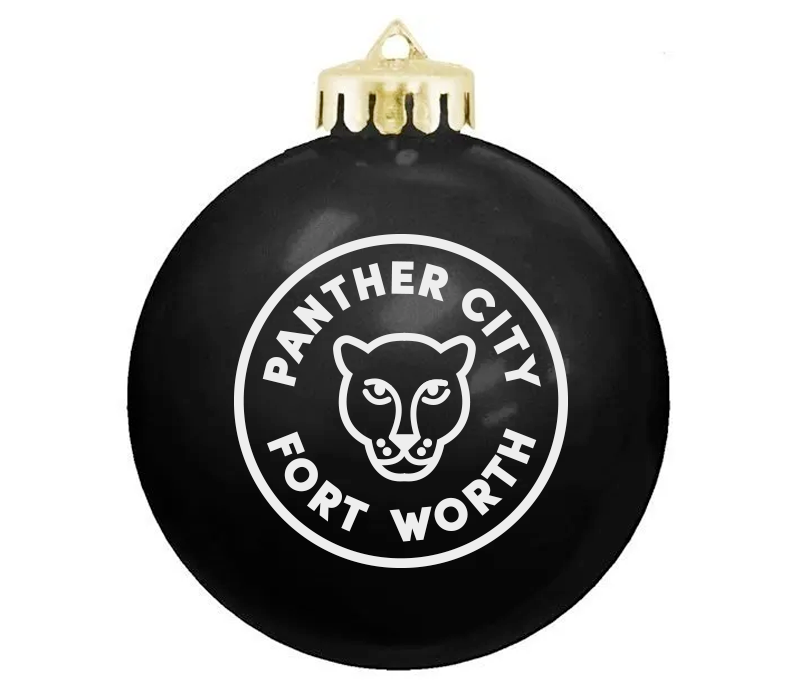 Panther City - Christmas Ornament