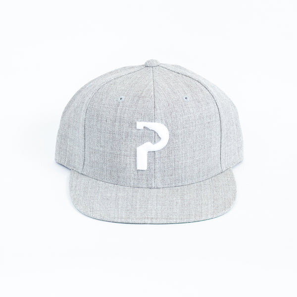 Panther City P™ - Heather Gray - Snapback Hat